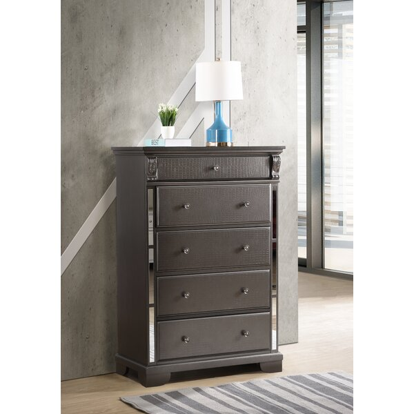 Noonan 5 Drawer Chest by House of Hampton