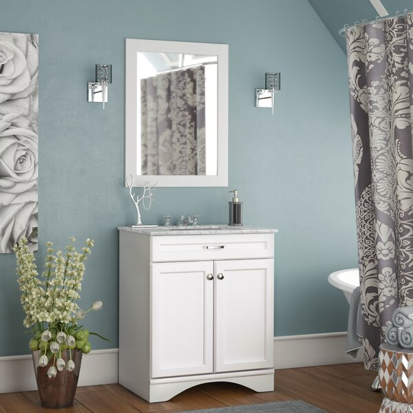 Madi 30 Single Vanity Set with Mirror by Willa Arlo Interiors