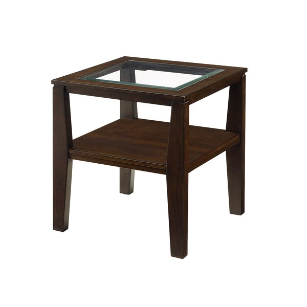 Merton End Table by Alcott Hill