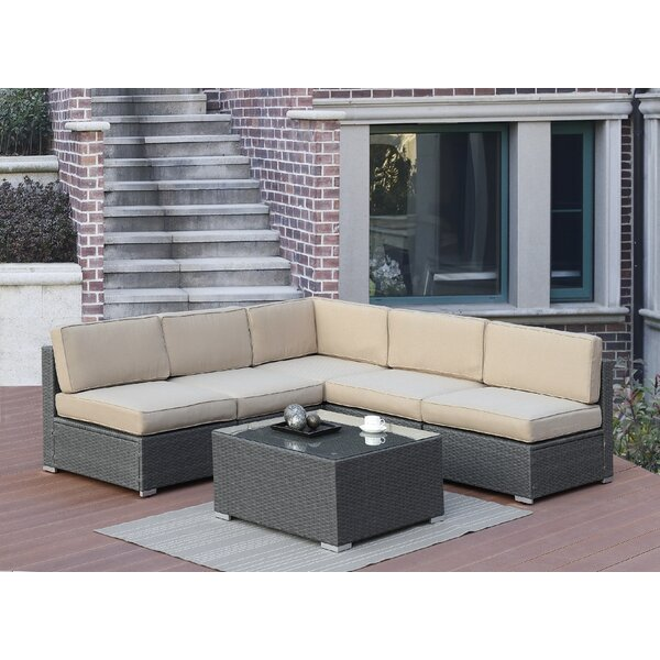 Lympsham 6 Piece Sectional Set by Rosecliff Heights