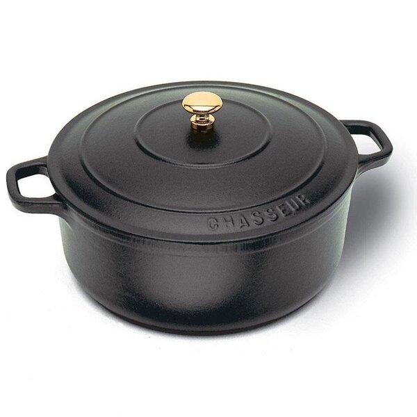 Cast Iron Round Dutch Oven by Paderno World Cuisine