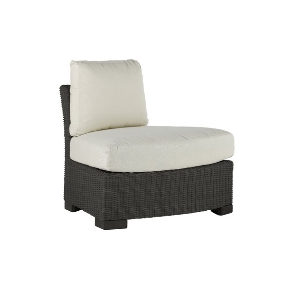 Club Woven Patio Chair with Sunbrella Cushion by Summer Classics
