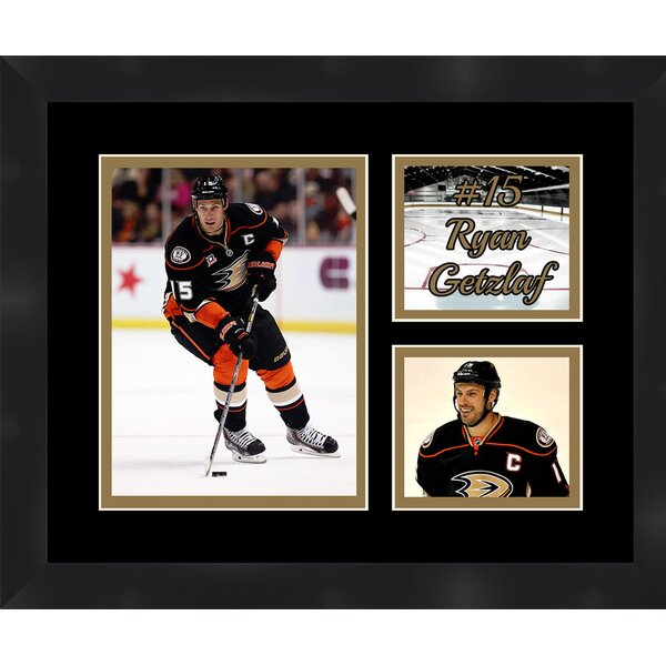 Anaheim Ducks Ryan Getzlaf 15 Photo Collage Framed Photographic Print by Frames By Mail