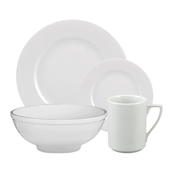Ludovic 16 Piece Dinnerware Set, Service for 4 by Alcott Hill