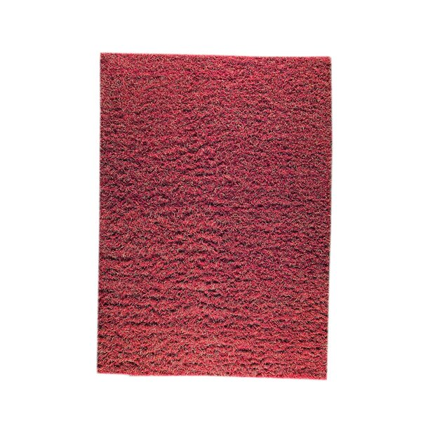 Weeds Hand-Knotted Red/Rust Area Rug by Hokku Designs