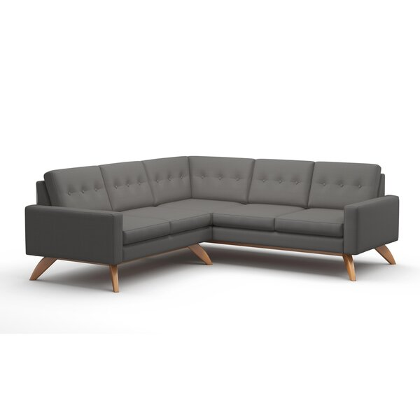 Luna Symmetrical Sectional Collection By TrueModern