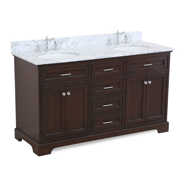 Aria 60 Double Bathroom Vanity Set by Kitchen Bath CollectionAria 60 Double Bathroom Vanity Set by Kitchen Bath Collection