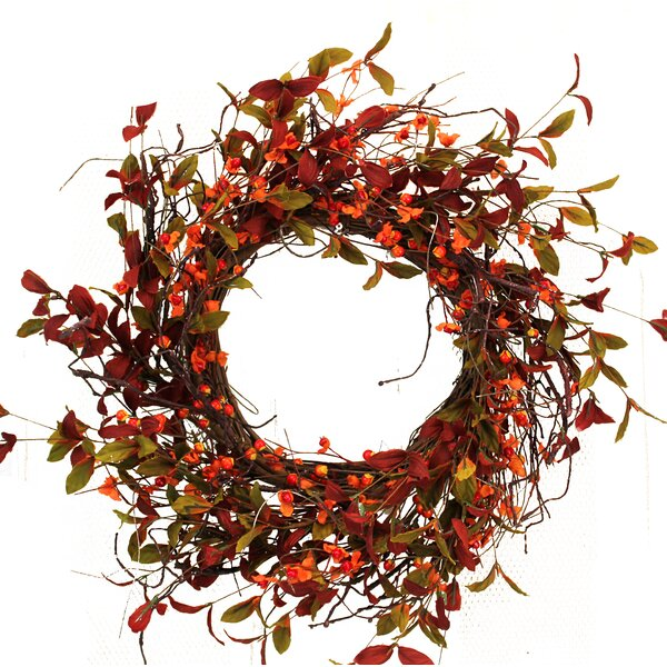 Fall 19 Berries Twig Wreath by The Holiday Aisle