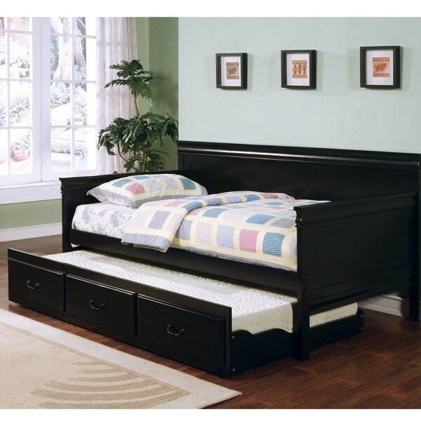 Sangiacomo Twin Daybed with Trundle by Canora Grey Canora Grey