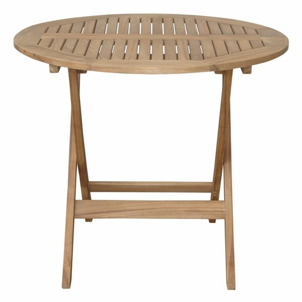 Boutin Solid Wood Bistro Table by Freeport Park