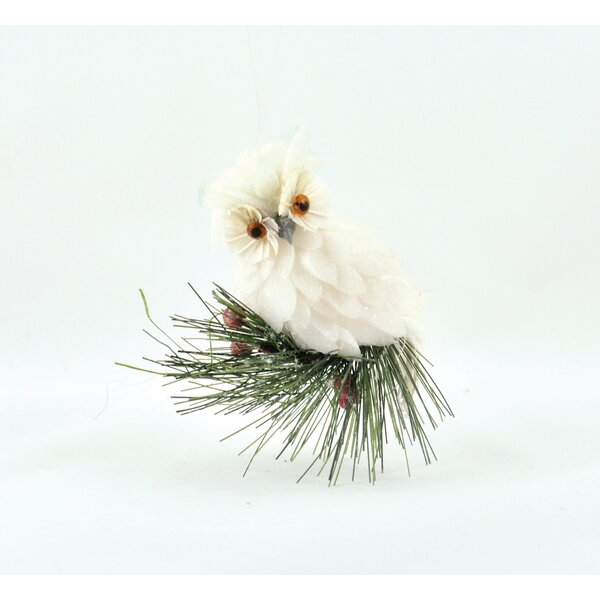 Owl on Branch Hanging Figurine by The Holiday Aisle