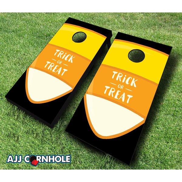 10 Piece Trick or Treat Cornhole Set by AJJ Cornhole