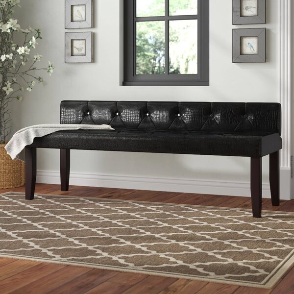 Coderre Upholstered Bench by Charlton Home