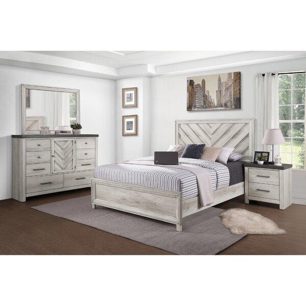 Pinar Standard Configurable Bedroom Set by Gracie Oaks