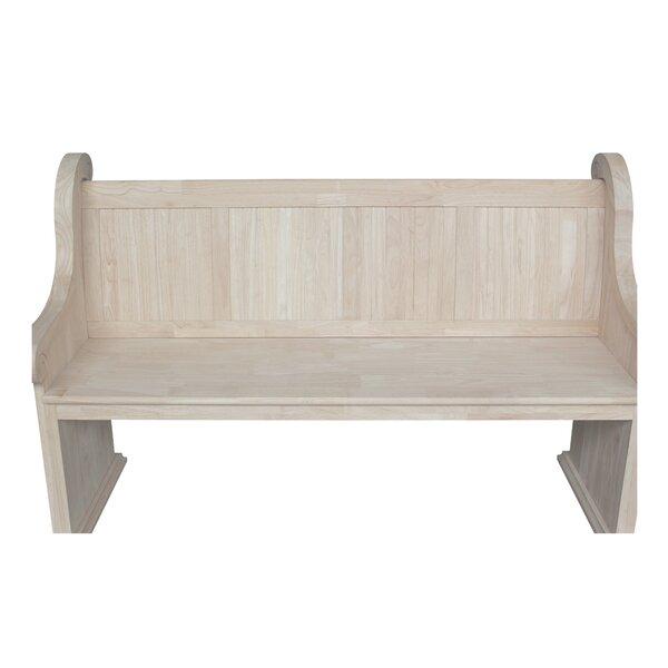 Akron Wood Bench by Rosalind Wheeler Rosalind Wheeler