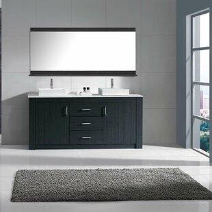 Double Vessel Sink Vanity. Save to Idea Board Vessel Sink Vanities You ll Love  Wayfair