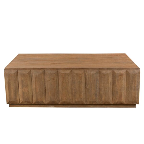 Bracamonte Solid Wood Solid Coffee Table by Foundry Select Foundry Select
