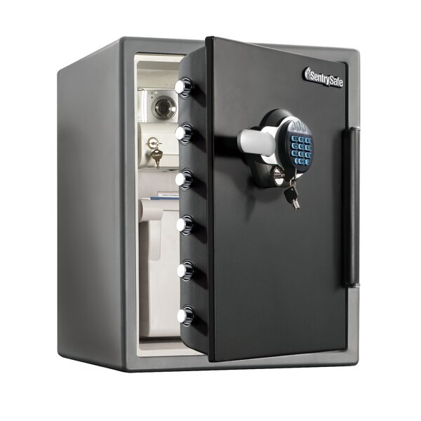 Water Resistant Fire Safe with Dual-Lock by Sentry Safe
