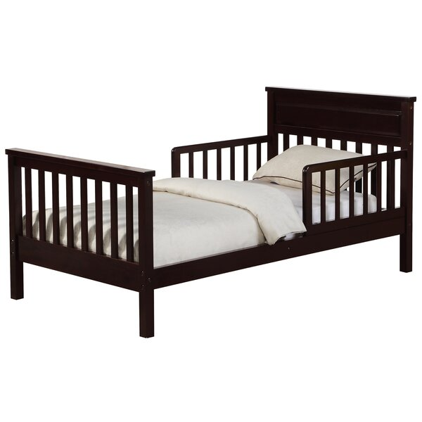 Villegas Toddler Slat Bed by Harriet Bee
