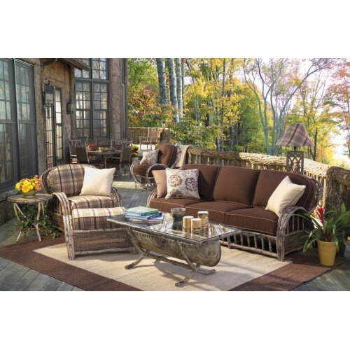 River Run Deep Seating Group with Cushions by Whitecraft