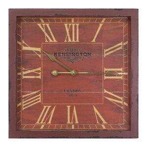 antique square wall clock