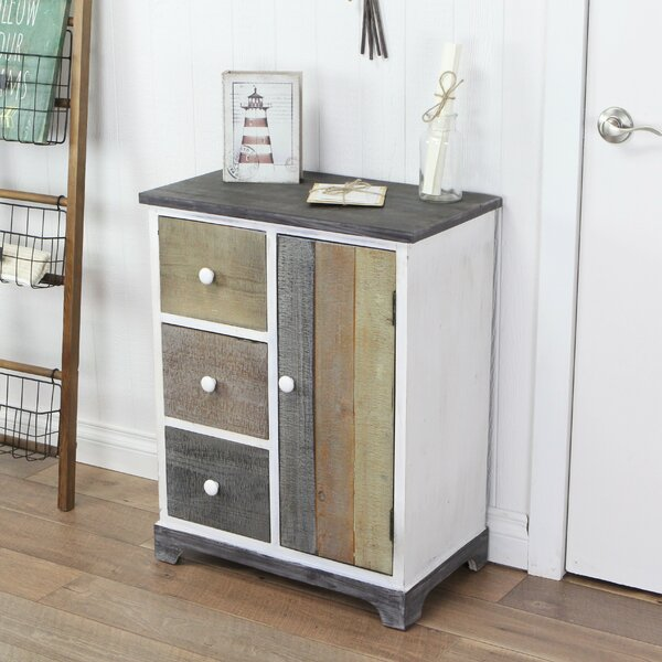 Kempner 3 Drawer Nightstand by Highland Dunes