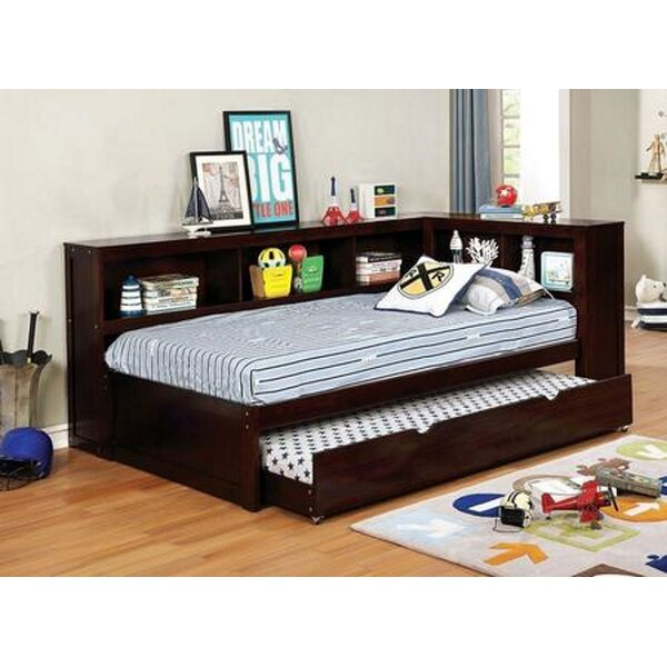 Amaretto Wood Daybed With Trundle By Harriet Bee