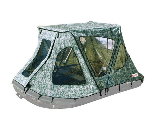 Winter Canopy Boat Rain Sun Wind Snow Waterproof Covering 2 Person Tent by ALEKO