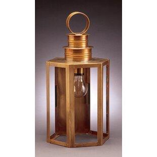 Reviews Hardwick 1-Light Outdoor Wall Lantern By Northeast Lantern