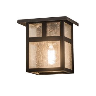 Reviews Alluvial Outdoor Flush Mount By Bloomsbury Market