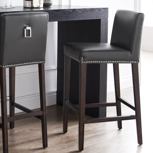5 West Brooke 29.5 Bar Stool by Sunpan Modern