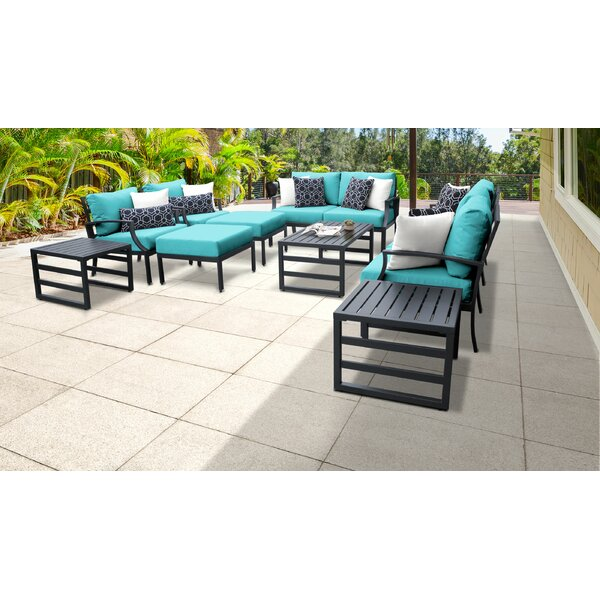 Benner 12 Piece Sectional Seating Group with Cushions by Ivy Bronx