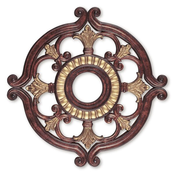 Ceiling Medallion in Verona Bronze by Livex Lighting