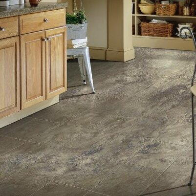 Stone Creek 12 x 48 x 8mm Tile Laminate Flooring in Azul by Armstrong Flooring