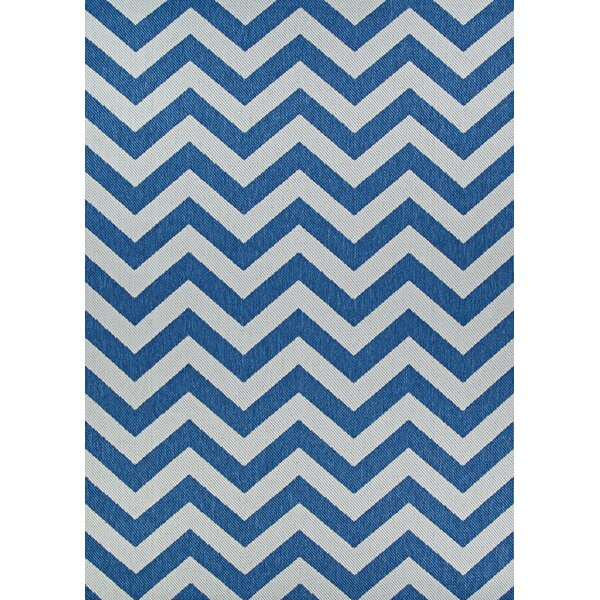 Schulman Sea and Dune Gray Indoor/Outdoor Area Rug by Breakwater Bay