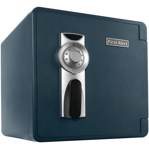 Waterproof Fireproof Security Safe with Combination Lock by First Alert