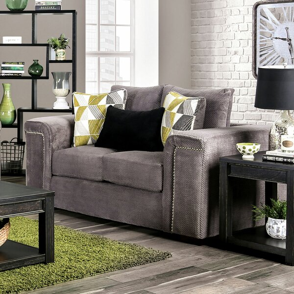 Amsley Loveseat By Andrew Home Studio