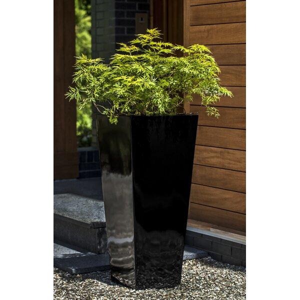 Perryman Square Fiberglass Pot Planter by Orren Ellis