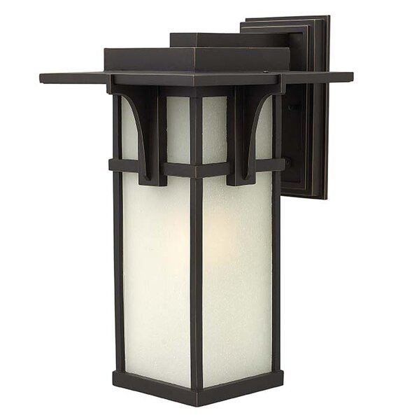 Manhattan 1-Light Outdoor Wall Lantern by Hinkley Lighting