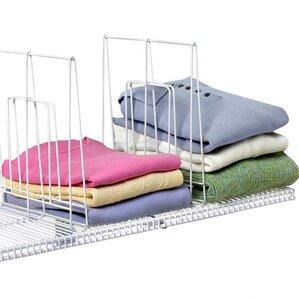 Closet Organization Ventilated 1 Pack Shelf Divider
