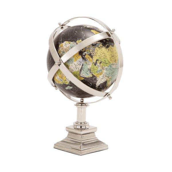 Metal World Globe by Cole & Grey
