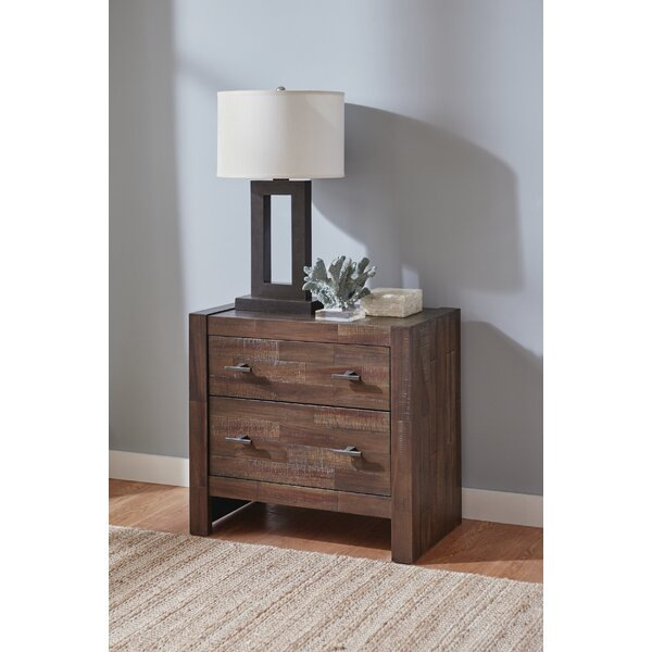 Ishiro 2 Drawer Nightstand by Foundry Select
