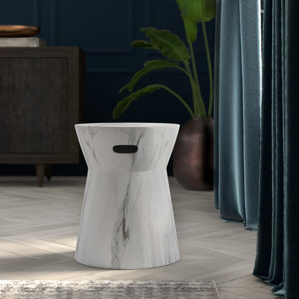 Westminster Ceramic Garden stool by Wrought Studio Wrought Studio
