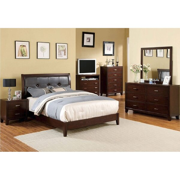Minyard Platform Configurable Bedroom Set by Alcott Hill