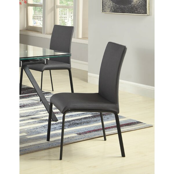 Aida Upholstered Dining Chair (Set of 4) by Orren Ellis Orren Ellis
