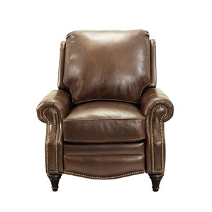 Avery Leather Manual Recliner by Barcalounger