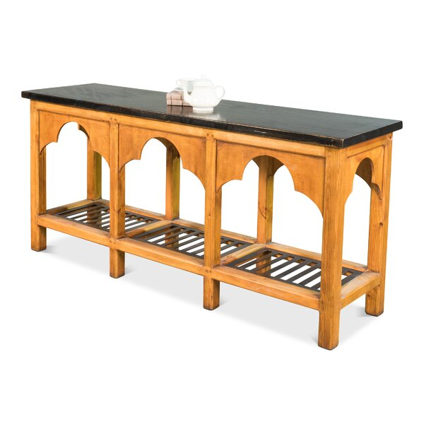 Ewart Railroad Trestle Prep Kitchen Island by Charlton Home