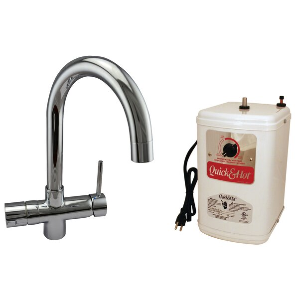 1-Handle Hot and Cold Water Dispenser by Westbrass Westbrass