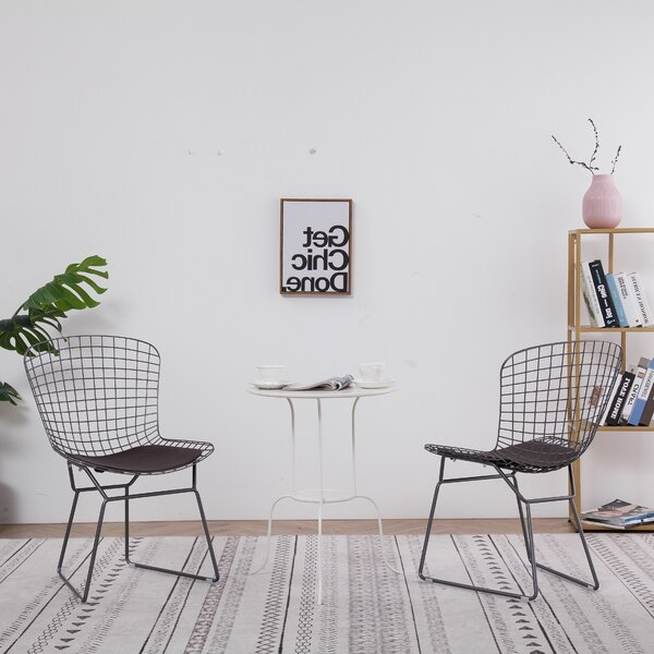 Chantel Patio Dining Chair with Cushion by Orren Ellis