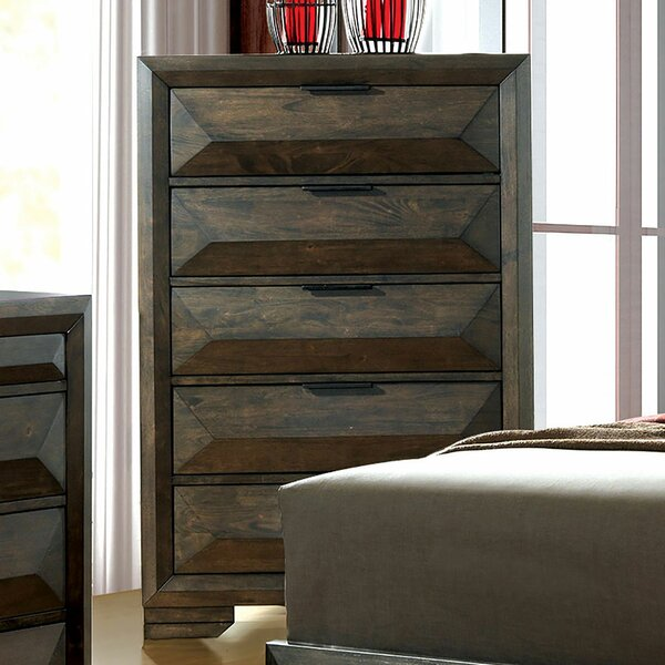 Barbosa 5 Drawer Chest by Foundry Select